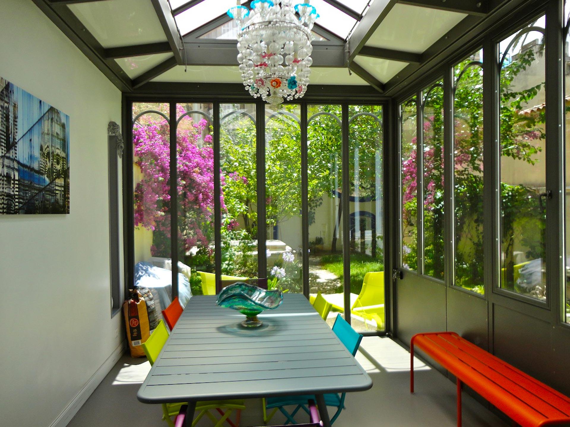 T6 avec jardin la pr fecture ma terrasse marseille for Jardin appartement
