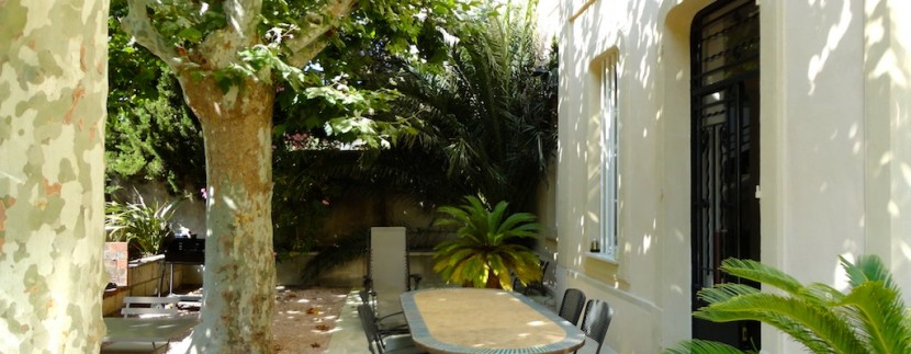 Marseille maison terrasse piscine vue mer Pointe rouge.3