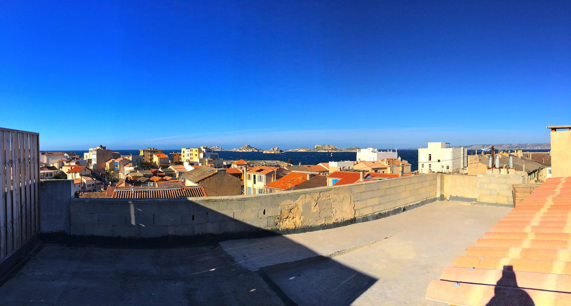 Ma terrasse a marseille maison malmousque vue mer parking 2