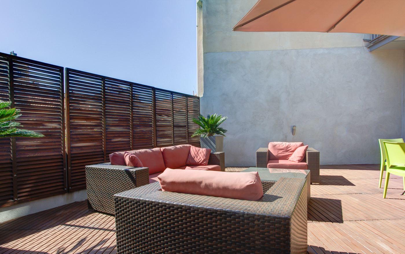 Appartement terrasse marseille notre dame du mont lodi 10