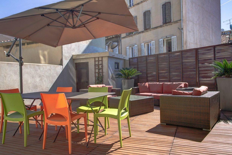 Appartement terrasse marseille notre dame du mont lodi 1