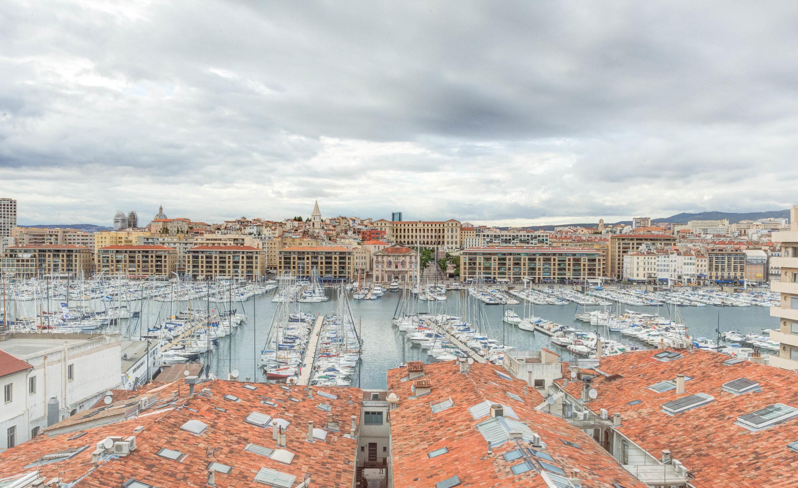 T3 Terrasse Vue imprenable Vieux Port 13007