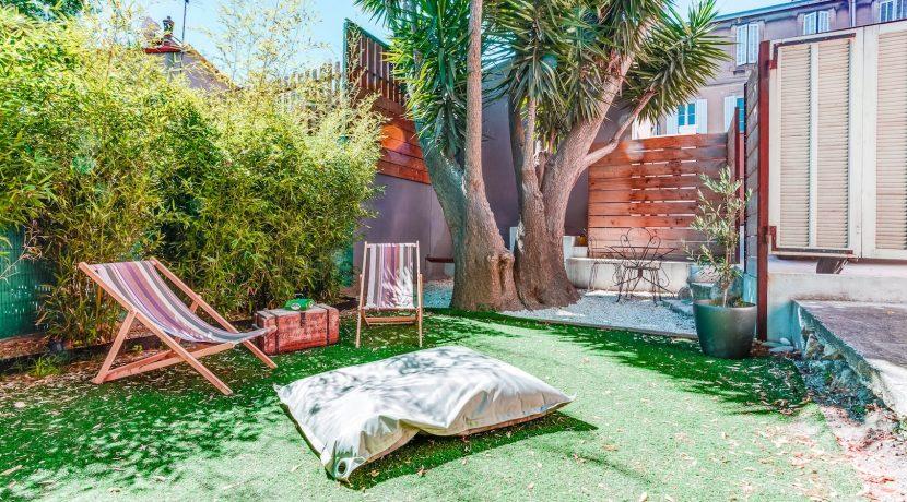 Maison vauban avec grand jardin 13006 ma terrasse marseille - Terrasse jardin londrina quadra marseille ...