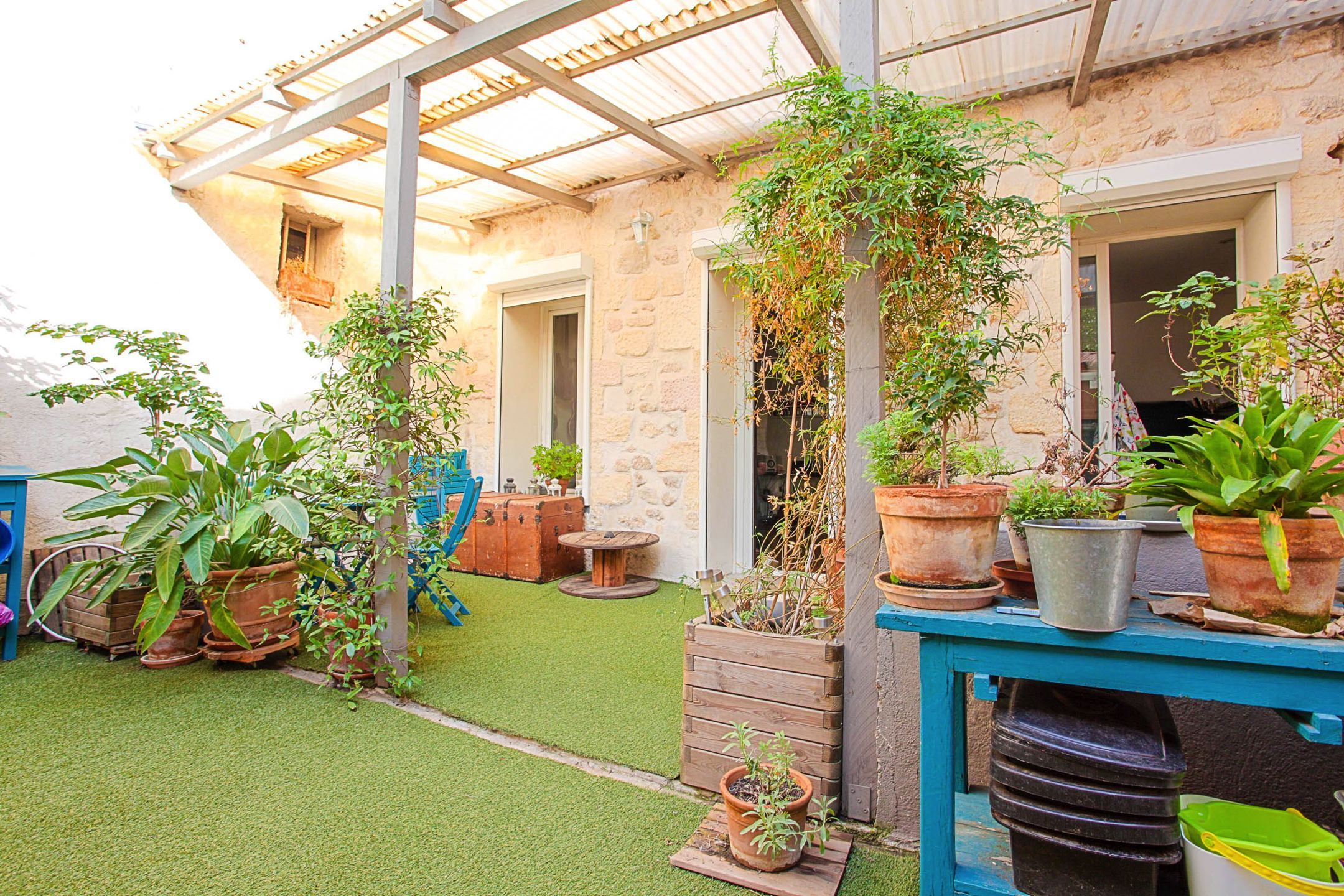 Rez de jardin t3 chave ma terrasse marseille - Terrasse jardin londrina quadra marseille ...