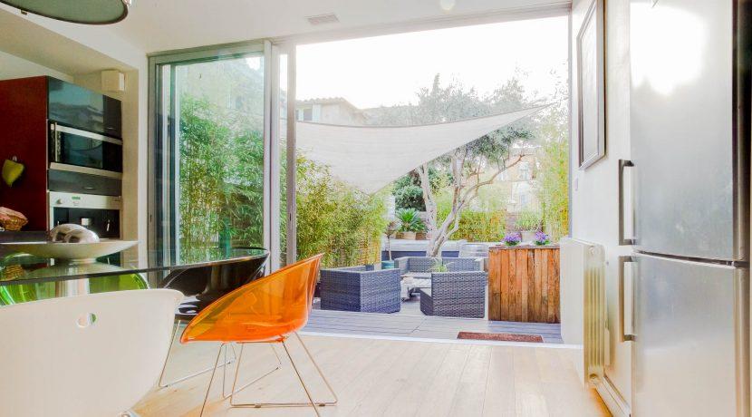 terrasse marseille maison piscine jardin 13004 cinq avenue 3