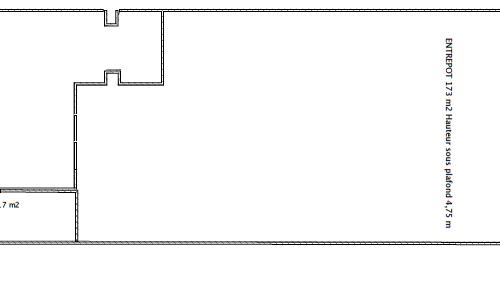 Plan atelier Belle de Mai RDC
