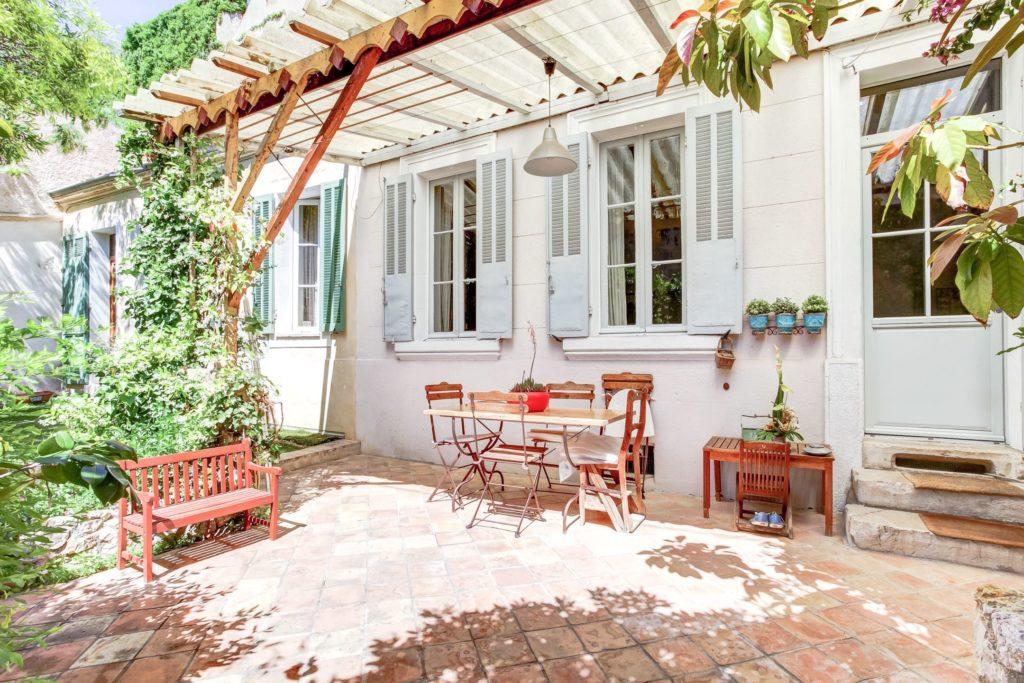 Calme et volupt vauban t5 en rez de jardin ma terrasse marseille - Terrasse et jardin marseille ...