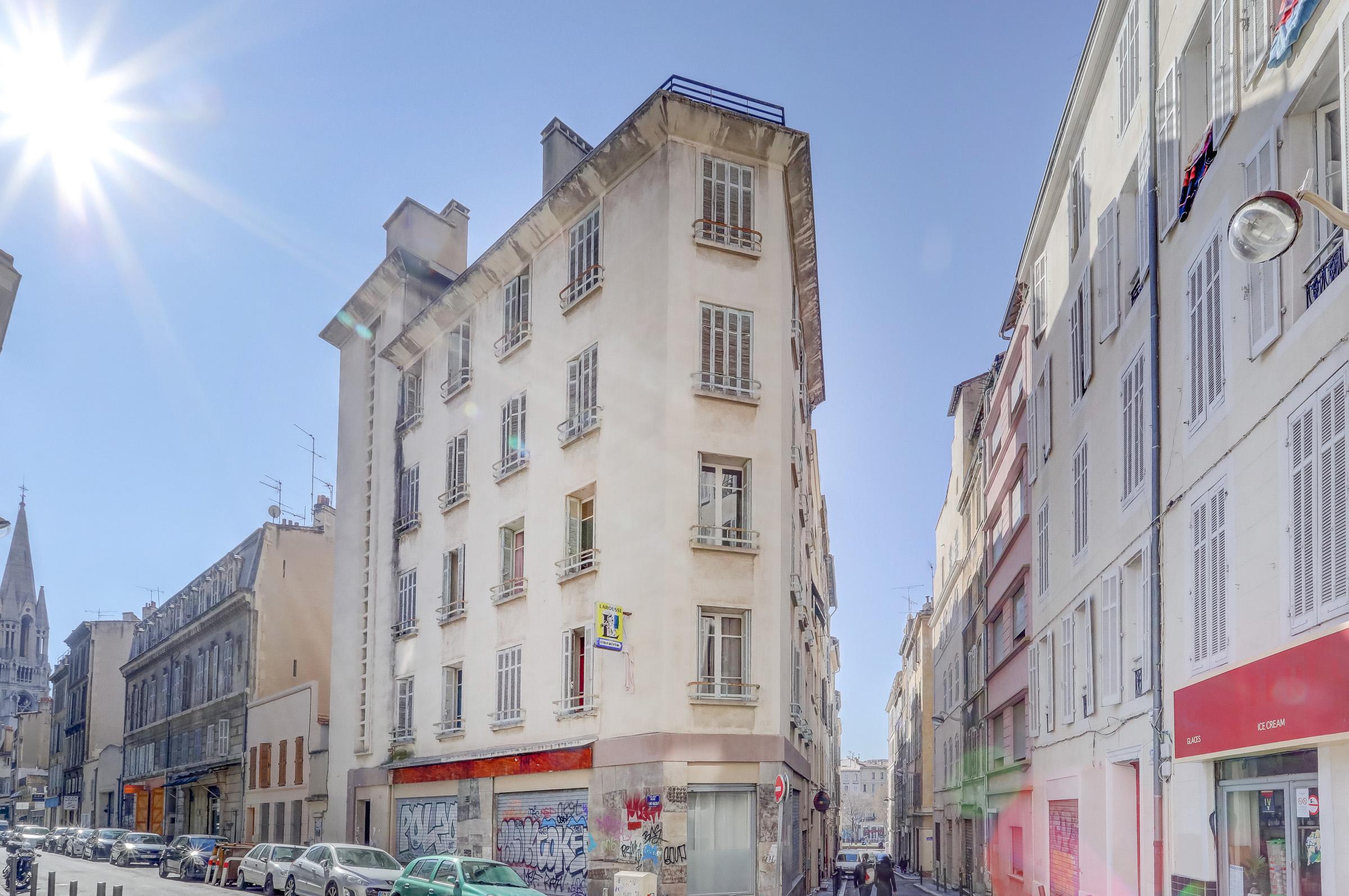 Immeuble au coeur du centre ville.