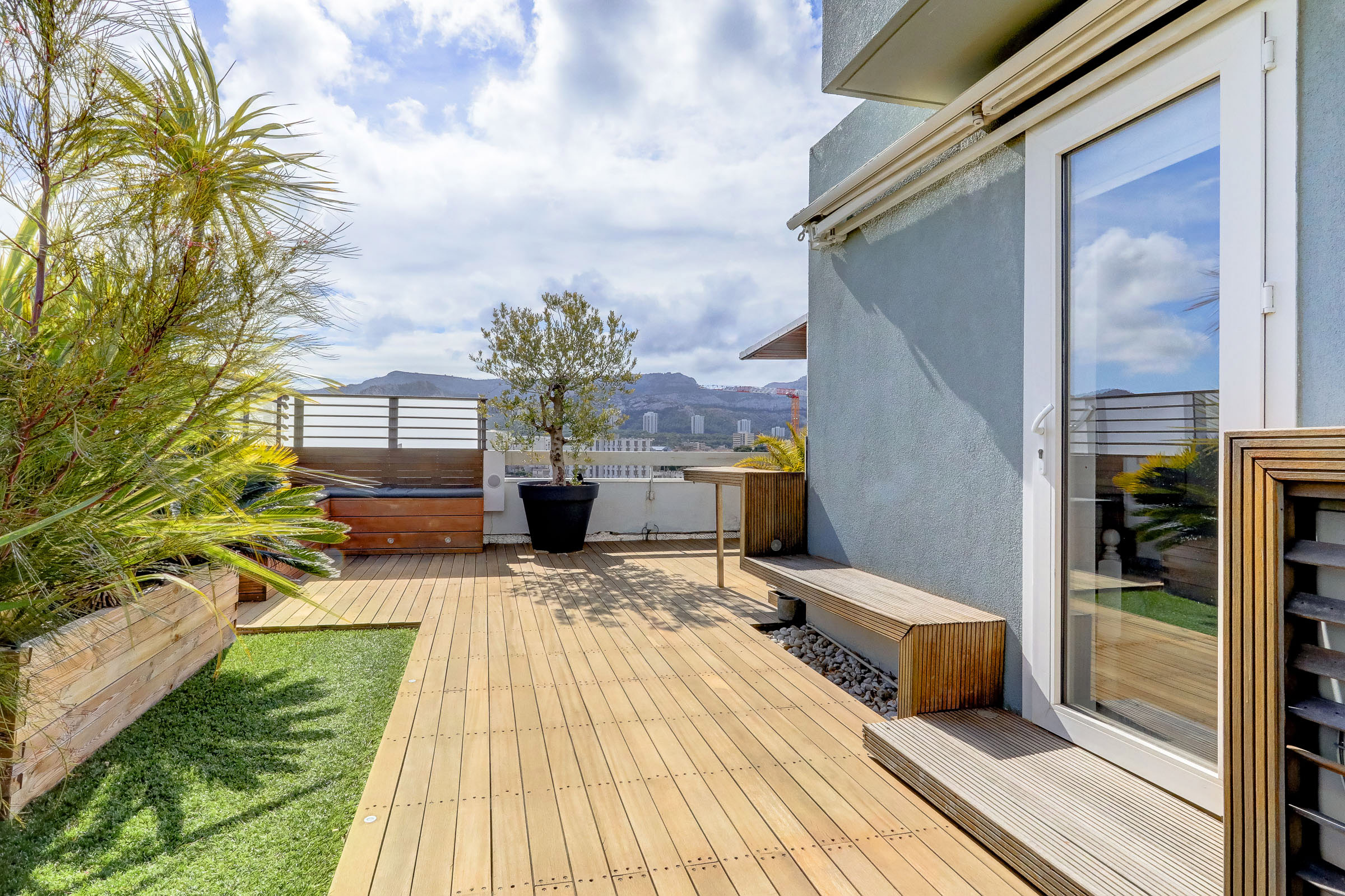 Valuation ma terrasse marseille for Appartement toit terrasse marseille 13008