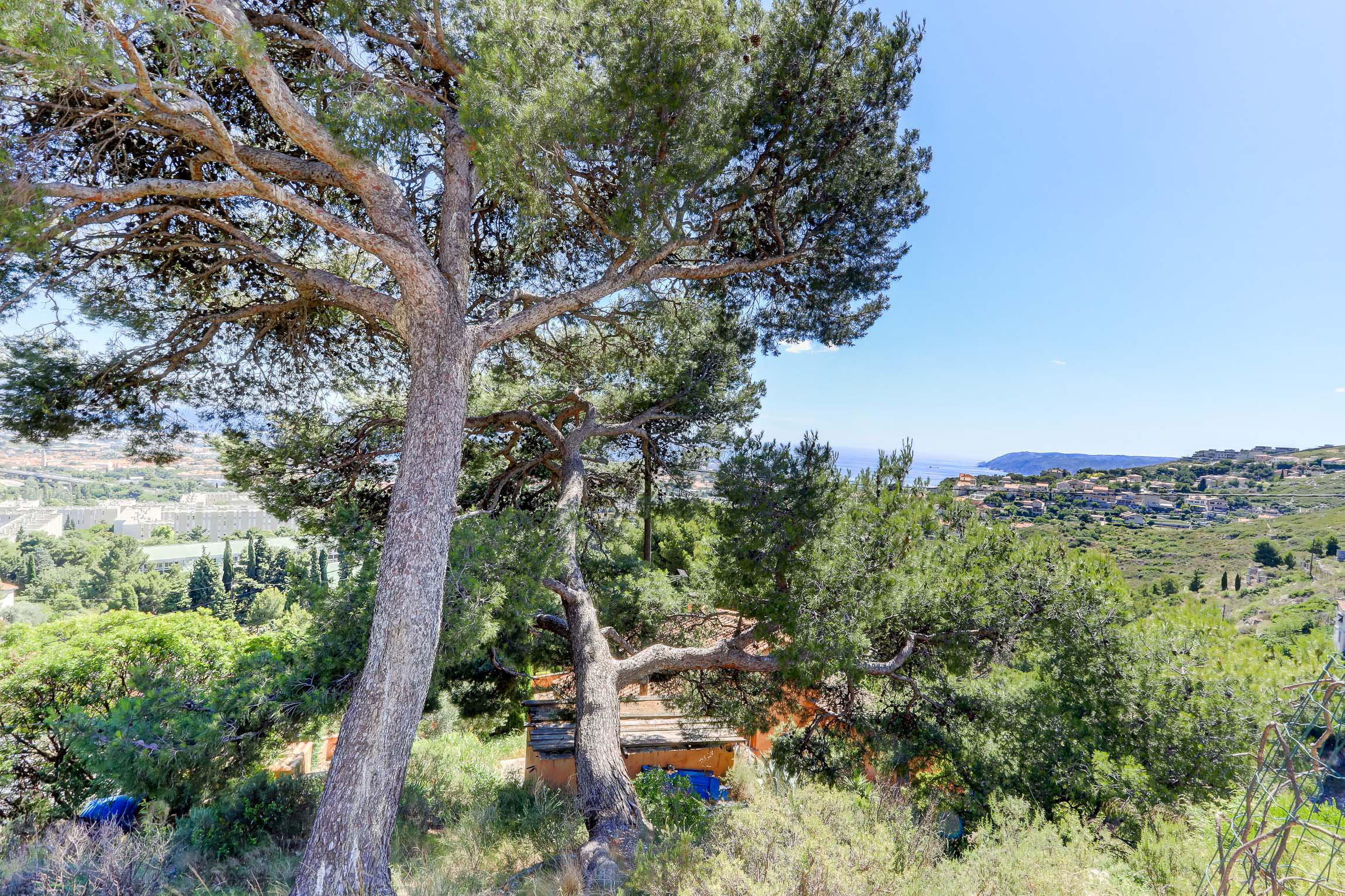 Charme provençal avec vue mer à 180°