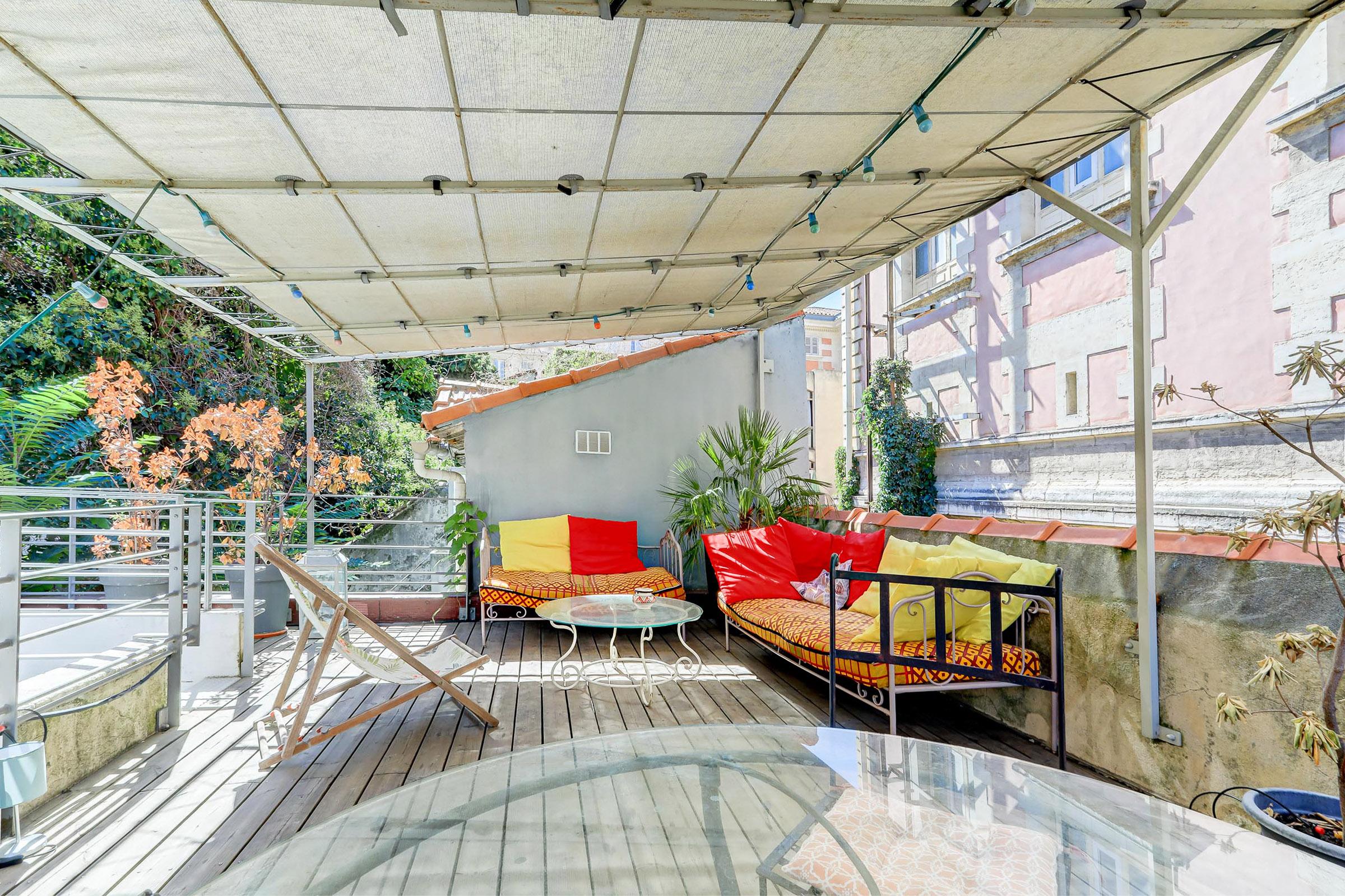Une Terrasse Hyper centre Hyper calme