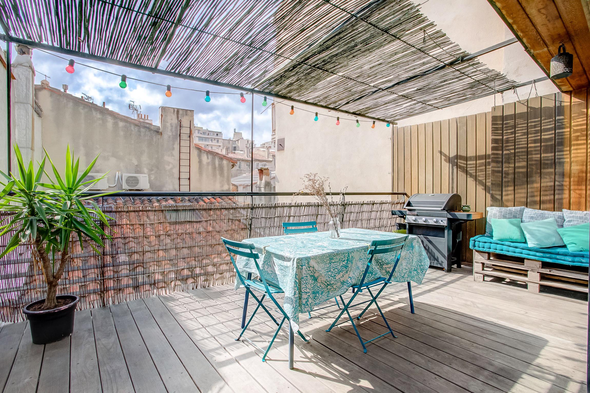 Mon duplex avec Terrasse en dernier étage à Saint Victor