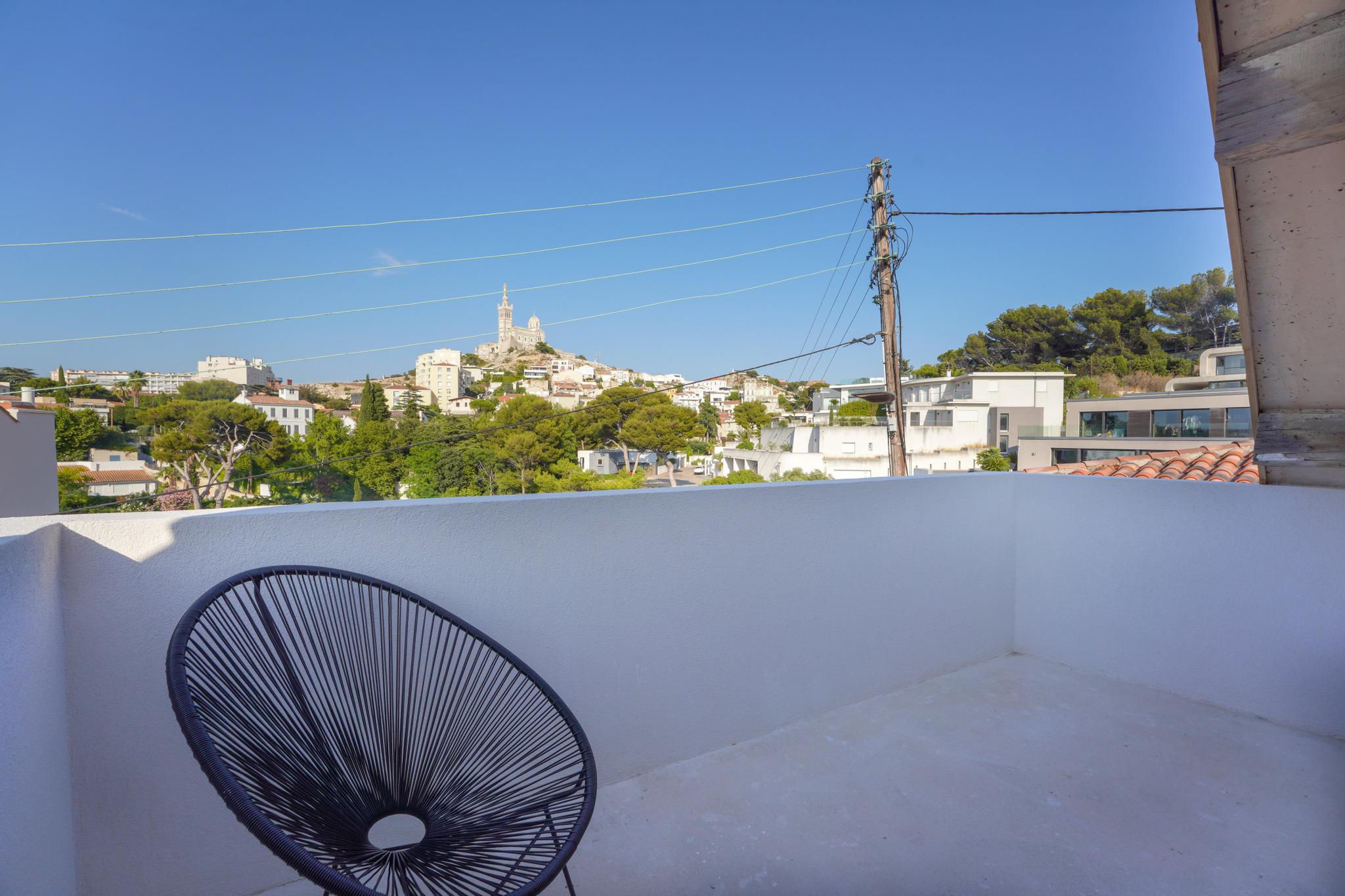 ma terrasse à marseille Vallon Jourdan 17